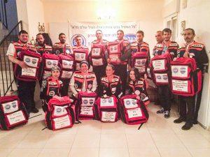 צוות המתנדבים של הצלה ללא גבולות 001