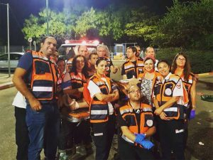 צוות המתנדבים של הצלה ללא גבולות 003