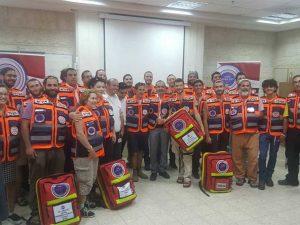 צוות המתנדבים של הצלה ללא גבולות 005
