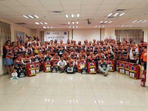 צוות המתנדבים של הצלה ללא גבולות 007