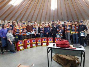 צוות המתנדבים של הצלה ללא גבולות 009