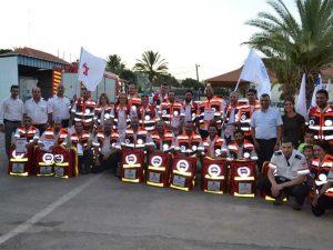 צוות המתנדבים של הצלה ללא גבולות 010