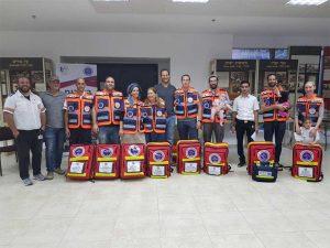צוות המתנדבים של הצלה ללא גבולות 011