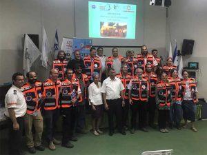 צוות המתנדבים של הצלה ללא גבולות 012