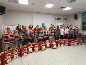 צוות המתנדבים של הצלה ללא גבולות 013