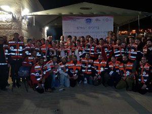 צוות המתנדבים של הצלה ללא גבולות 014