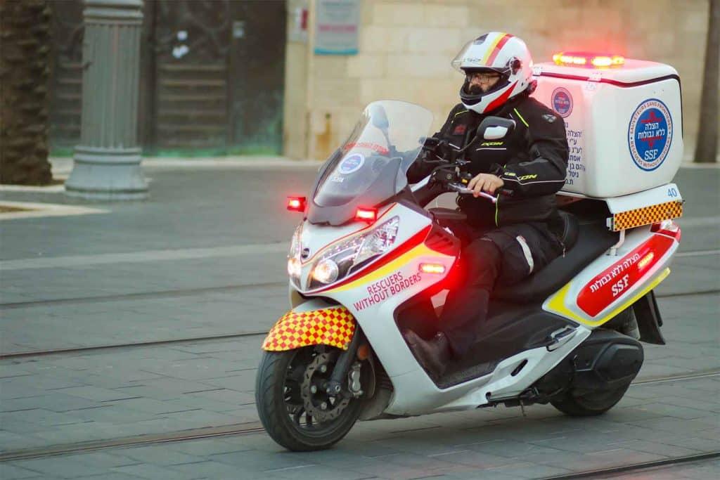 אופנולנס - Medical Motorcycle
