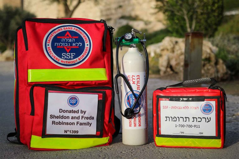 ערכת החייאה - ALS - Advanced Lifesaving Kit