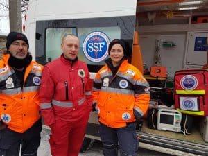 מתנדבים של הצלה ללא גבולות באוקראינה 2