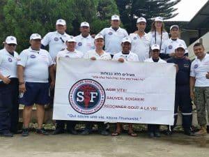 מתנדבים של הצלה ללא גבולות באקואדור