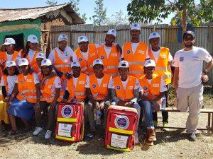 מתנדבים של הצלה ללא גבולות באתיופיה 1