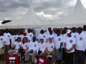 מתנדבים של הצלה ללא גבולות בקניה