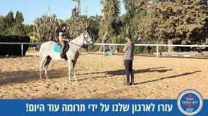 פרויקט חוות סוסים טיפולית